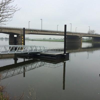 Afmeervoorzieningen Riviercruiseterminal Roermond