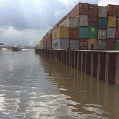 Uitbreiding containerterminal