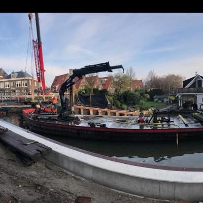 Vervangen kadeconstructies in Hoorn