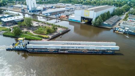 'Lienebrug' naam voor brug over haven Wanssum