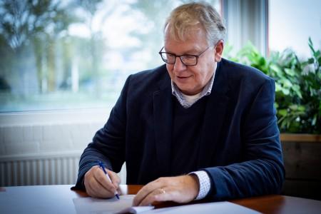 Contract Dijkversterking Stenendijk Hasselt ondertekend