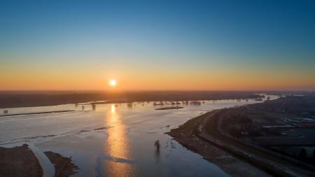 Maaspark Ooijen-Wanssum doorstaat hoogwater zonder problemen